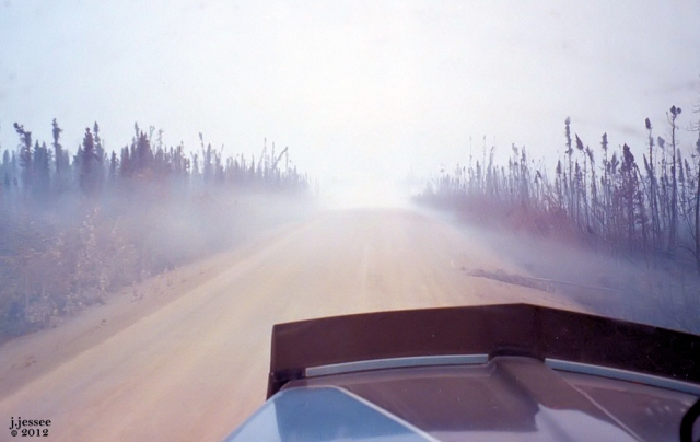 Smoke on the Dalton Highway