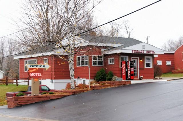 The Terrace Motel - Munising, Michigan