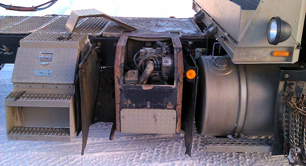 Generator in a Big Rig