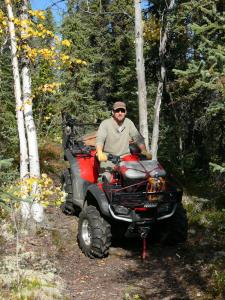 Jack on his 4-wheeler in 2009
