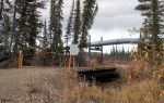 Bridge near Trans-Alaska Pipeline