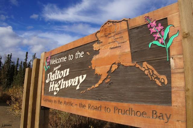 Dalton Highway sign