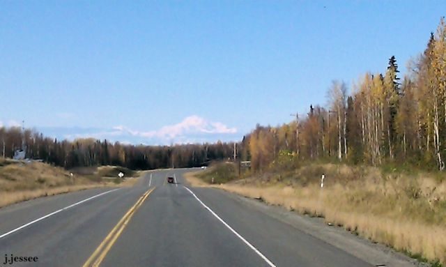 Denali from the Parks Highway
