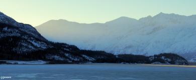 Kluane Lake, Yukon Territory, Canada