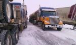 Trucks are finally going through