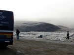 Tourists on the Dalton Highway