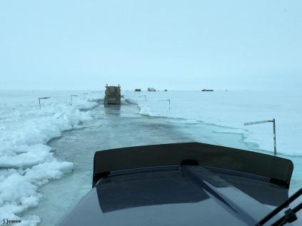 Sag River flooding the Dalton