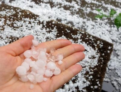 Huge hail for Fairbanks!