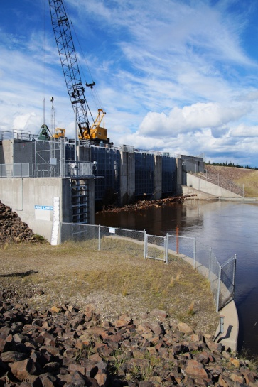 Chena River flood control
