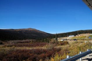 State camp, Montana Creek Station (road maintenance station).