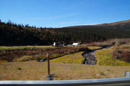 Lots of mining on the Steese Highway.