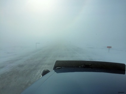 Low visibility on the Dalton Highway - The Jack Jessee Blog