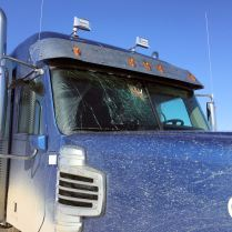 Broken windshield, culprit: ptarmigan - The Jack Jessee Blog