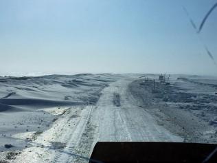 Dalton Highway, needing a plow - The Jack Jessee Blog