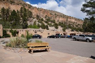 Leaving the visitor center and other buildings of Bandelier National Monument. Thanks for looking!