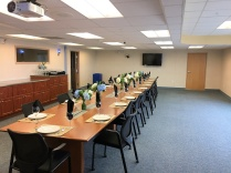 The conference room in Prudhoe Bay where they met...