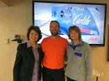 Secretary of Transportation, Elain Chao; Jack; and Alaska Senator Lisa Murkowski