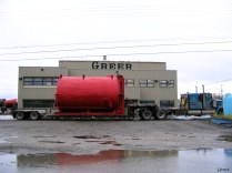 An insulated tank from Greer Welding.
