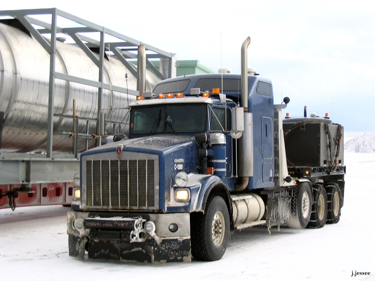 Heavy haul load with 2 push trucks « The Jack Jessee Blog