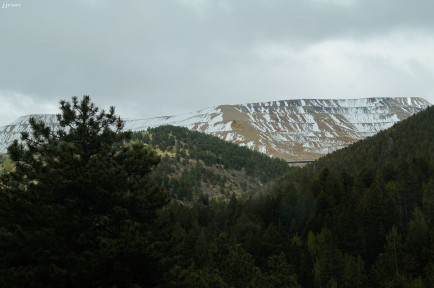 The view driving toward Cripple Creek