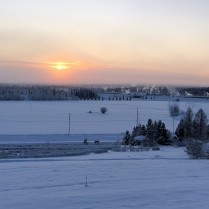Ice Fog over Fairbanks